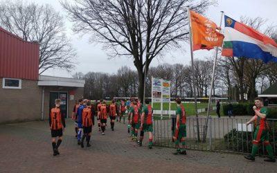 Schoonebeek trekt aan langste eind tegen Sweel na gelijk opgaande wedstrijd