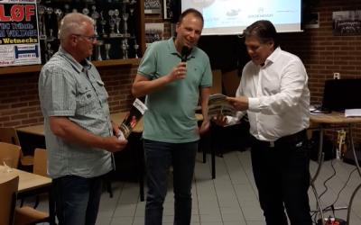 Prachtige presentatie van het FC12 Magazine bij v.v. Schoonebeek