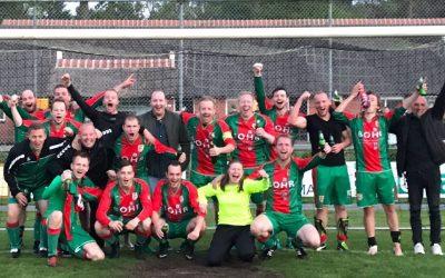 UNIEK: Schoonebeek 2 naar de bekerfinale na winst op Rolder Boys 3