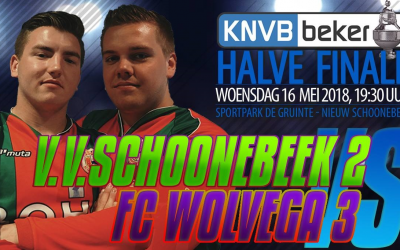 Schoonebeek 2 nog 1 overwinning nodig om bekerfinale in Joure te halen