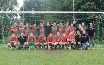 Schoonebeek 2 verliest bekerfinale van Blauw Wit '34 5